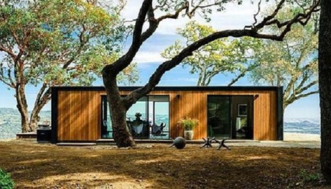 Container Homes Texas cargo container homes are a hit in the hill country