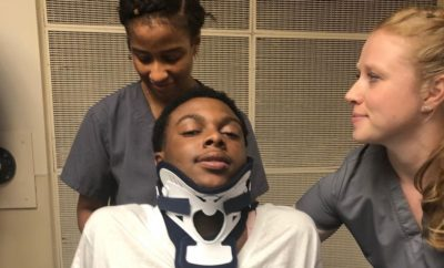 Prayer Rally Held for Texas High School Football Player Left Paralyzed