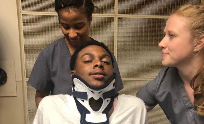 Prayer Rally Held for Texas High School Football Player Left Paralyzed