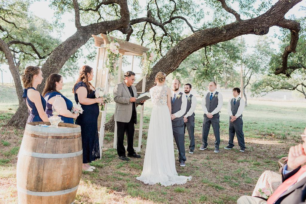 Heart of Texas Ranch Wedding Grove