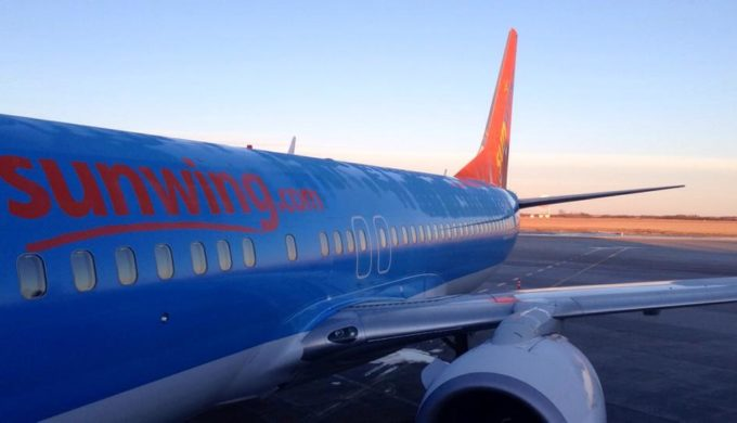 Charged With FWI?: Impaired Sunwing Pilot, Canada to Cancun