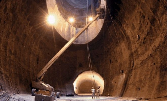 The Abandoned Texas Superconducting Super Collider: Colossal