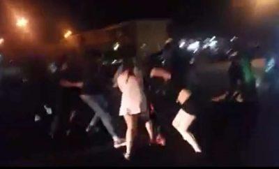 DQ brawl