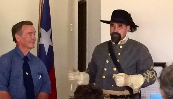 A New Idea for a Night Out in San Saba: History Comes to Life