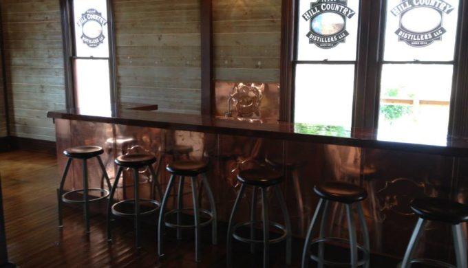 Copper Bar. Comfort, TX.