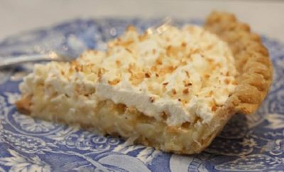 Laura Bush's Texas Buttermilk Coconut Pie With Whipped Cream is a Recipe You'll Treasure