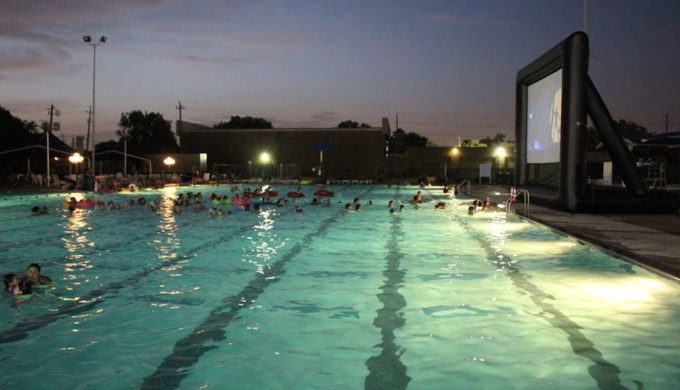 A Dive-In Movie in Deer Park Texas (No That's Not a Typo)…