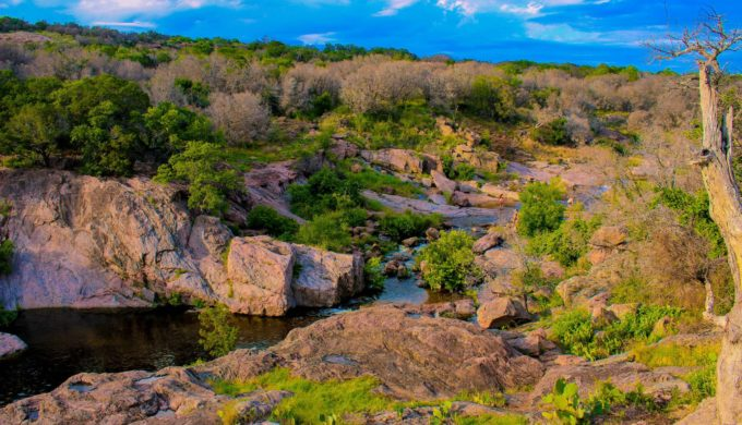 Devil's Waterhole in Burnet Texas