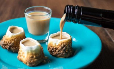 Toasted Marshmallow Shot Glasses: Unadulterated Fall Time Fun