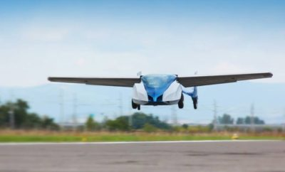 World's First Flying Car is Taking Pre-Orders & Ride-Share Companies Are Taking Notice