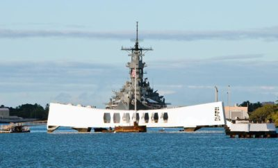 800-lb Piece of the USS Arizona Headed to the Texas Panhandle War Memorial