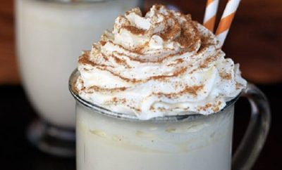 Pumpkin Spice White Hot Chocolate: Where Have You Been All Our Lives?