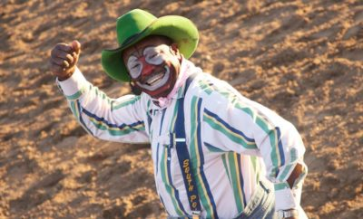 Leon Coffee: Professional Rodeo Clown and 'Man in the Can' With Four Decades of Passion for the Sport
