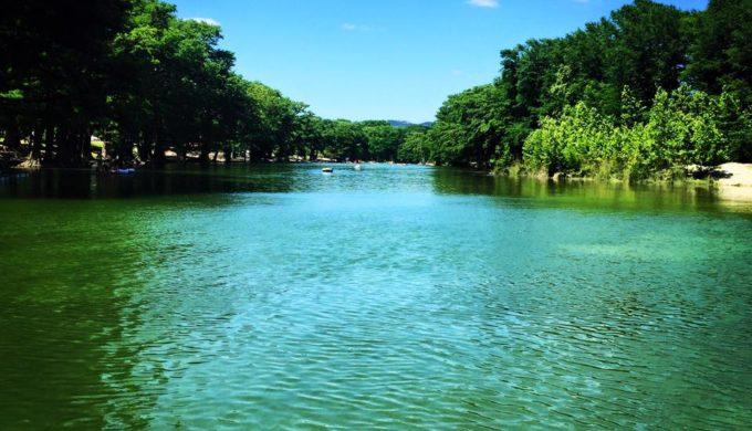 Frio River in Garner State Park