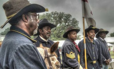 The Stories of the Texas Buffalo Soldiers Are Brought to Life By The Texas Parks and Wildlife Department