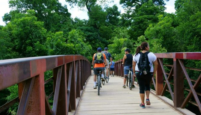Ann and Roy Butler Hike-And-Bike Trail in Austin is a Sight for Sore Eyes in the Hill Country