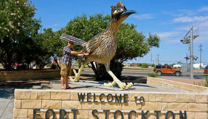 Paisano Pete: Second Largest Roadrunner is First in Fort Stockton's Heart