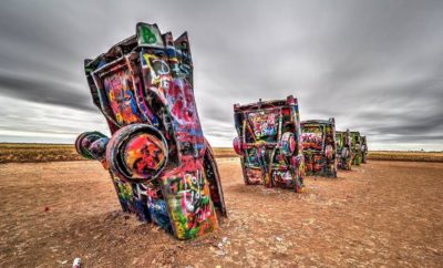 Cadillac Ranch: A Texas Monolith to Commerce, Krylon, and Kitsch
