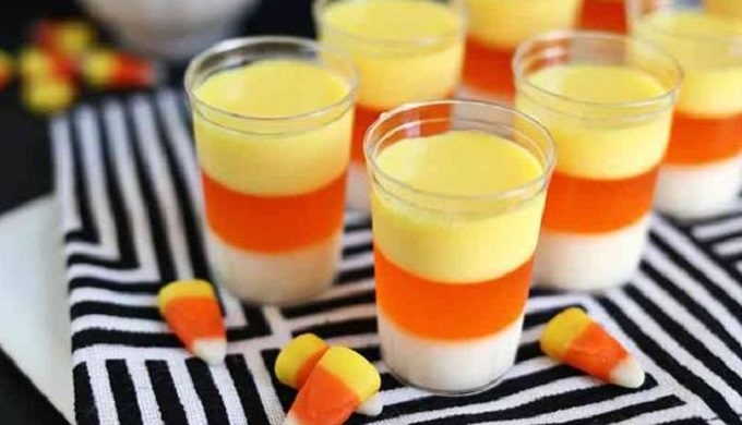Candy Corn Jell-O Shots: Your Childhood Converges With an Adult-Good Time
