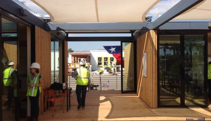 A Texas Modular Home Powered Only by Sunshine & Rainwater