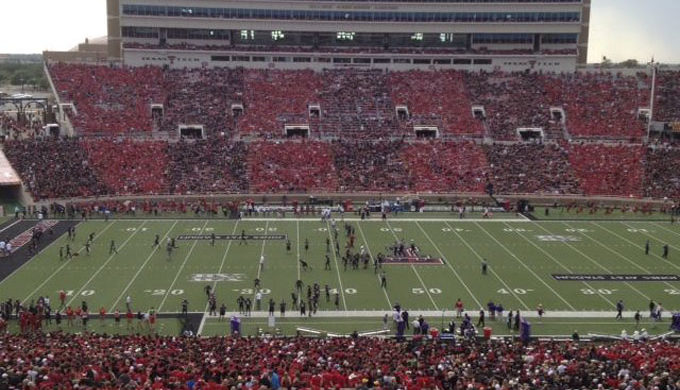Jones AT&T Stadium at Texas Tech