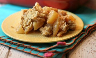 Irish Apple Crisp: Using Whiskey for More than Just Sipping