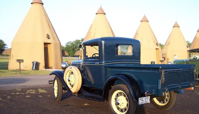 Wharton, Texas: Home of Nostalgic Charm and Tee Pees for Two (Or More)