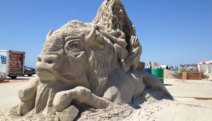 Texas SandFest Features Pro and Amateur Sculptors and Puts Port Aransas on the World Sand Art Map