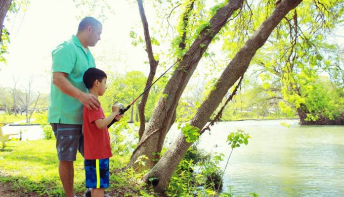 A Trip to Son's Island: Seguin Area Tropical Paradise in Texas