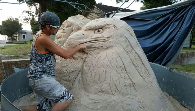Sand Sculpture Extravaganza Gave Twin Points Park in Tarrant County a Touch of Class