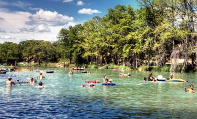 The Quintessential Texas Summer Vacation Floating on the Frio River in the Hill Country