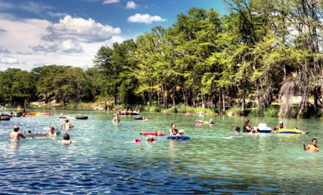 The Quintessential Texas Summer Vacation Floating On The