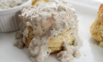 Buttermilk Biscuits and Sausage Gravy Go Together Like Tacos and Tuesday