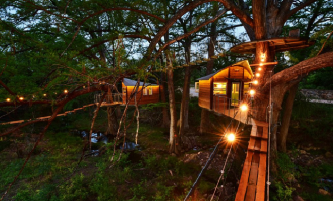 Treehouse Adventures & Accommodations in Texas That Will ...