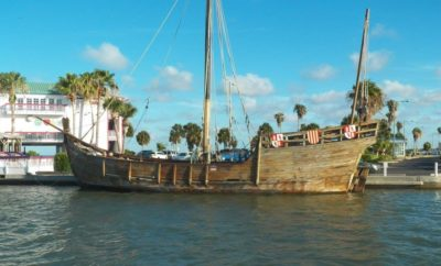 Nina Replica Damaged by Hurricane Harvey Now Up for Sale in Corpus Christi