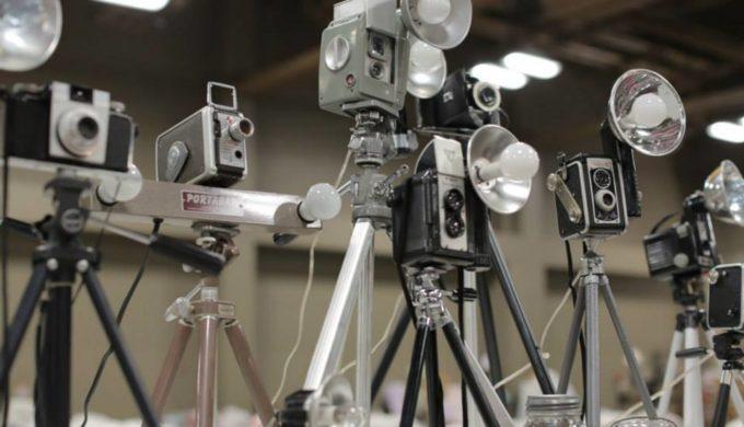 Vintage Cameras at City-Wide Garage Sale