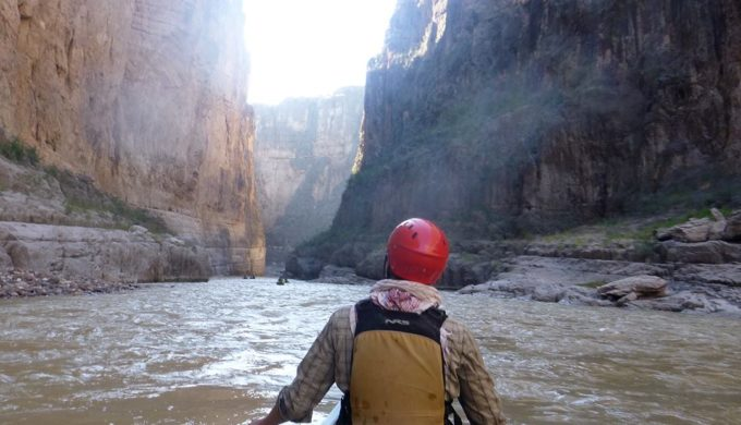 Canoeing in Big Bend