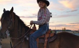 Jackie Ganter's Barrel Racing Success Sparked by Powerful Inspiration