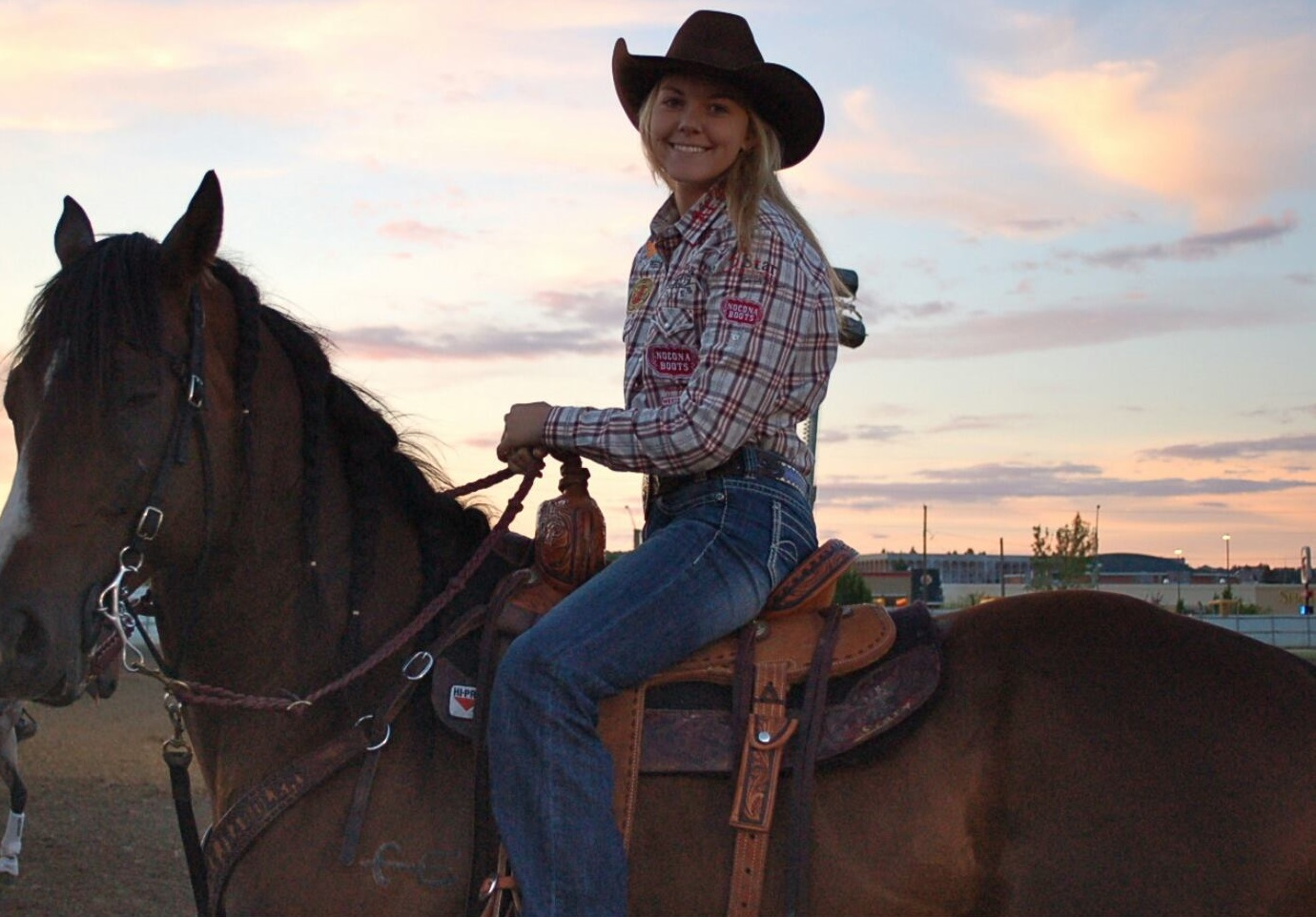 Jackie Ganter S Barrel Racing Success Sparked By Powerful