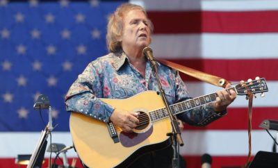 """American Pie"" Singer/songwriter Don McLean Plays Historic Lubbock Gig"