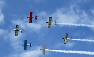 Planes at the Bluebonnet Air Show