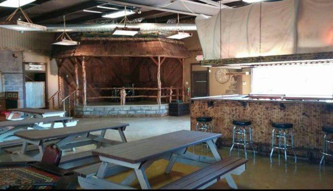 Old West Burgers interior