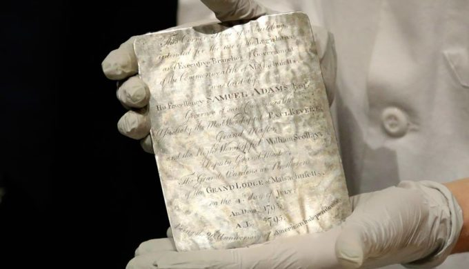 Revolutionary-Era Patriots Paul Revere and Samuel Adams Believed to Have Buried 1795 Time Capsule