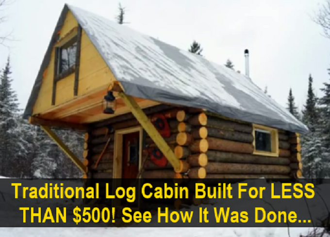 Build This Cozy Cabin Cozy Cabin Magazine Do It Yourself: $500 Tiny Home Is A Log Cabin Lover's Dream