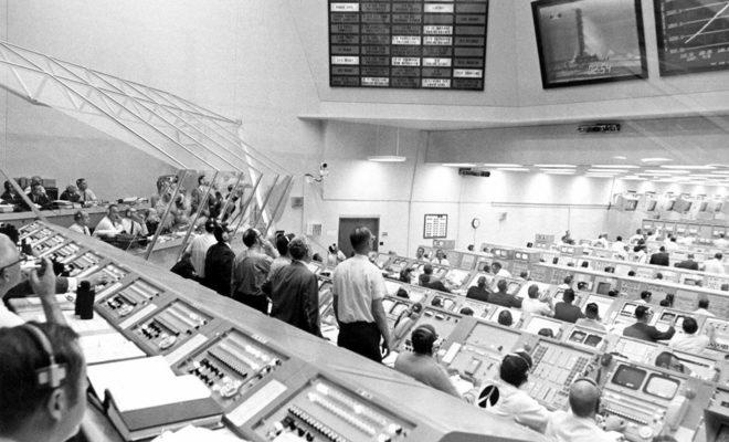 Apollo Mission Control Center Undergoing Extensive ...