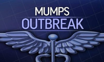 Mumps Outbreak at Cedar Hill High School in Dallas County With Additional Cases Under Investigation