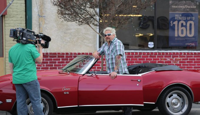 Guy Fieri Spotted at San Antonio BBQ: Welcome to Flavortown