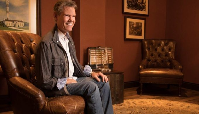 Country Music Superstar Randy Travis Sings at Taping in Fort Worth