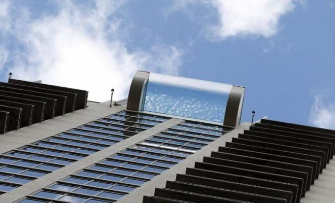 Sky Pool In Houston Is A Jaw Dropping Glass Bottomed Swim