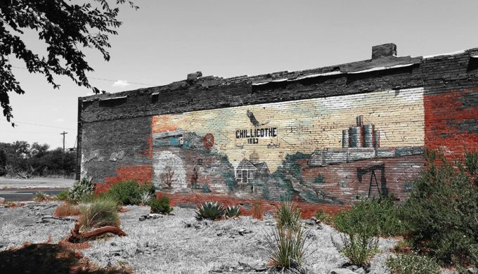 Mural in Chillicothe Texas